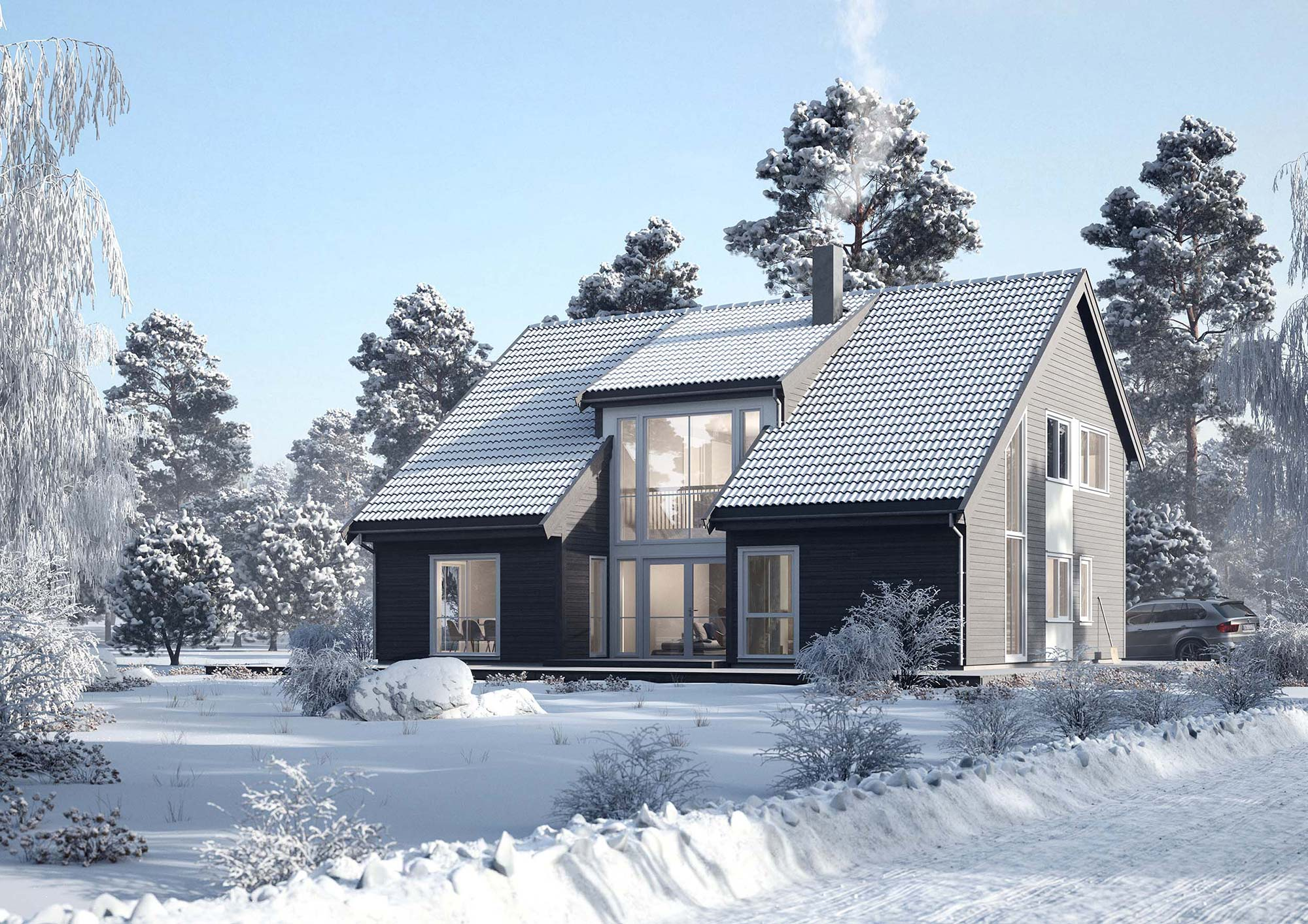 Nordbohus 3d exterior images by Cadesign form