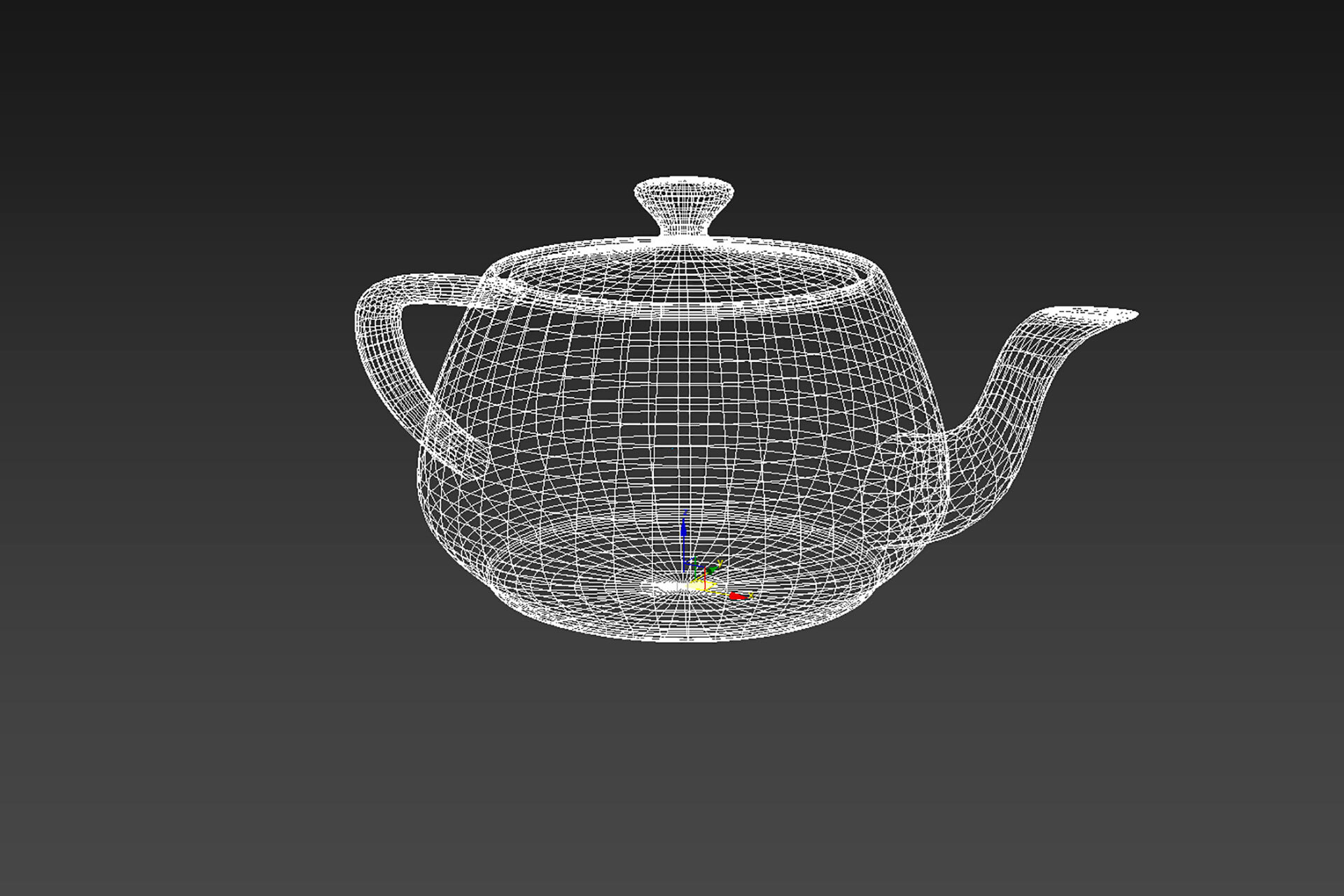 1_Teapot_Wireframe