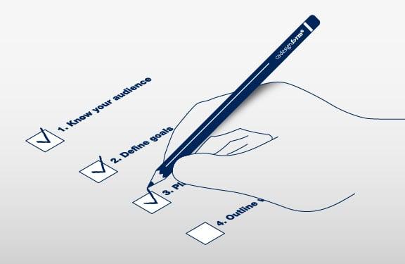 Video marketing strategy checklist by Cadesign form