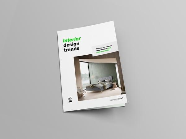 01 Standard Mockup - E-book - Interior design trends - Light