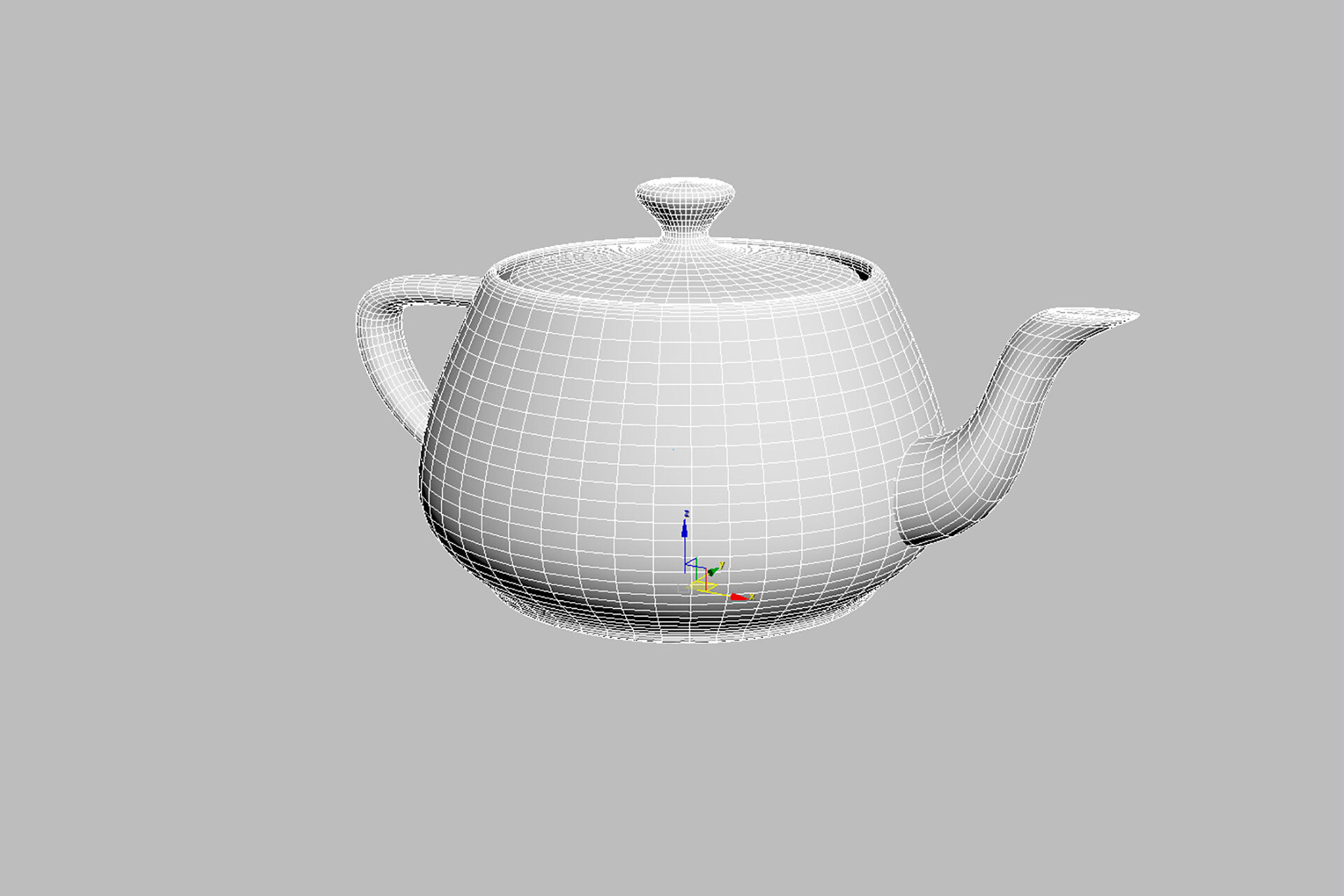 2_Teapot_Shaded_Wireframe