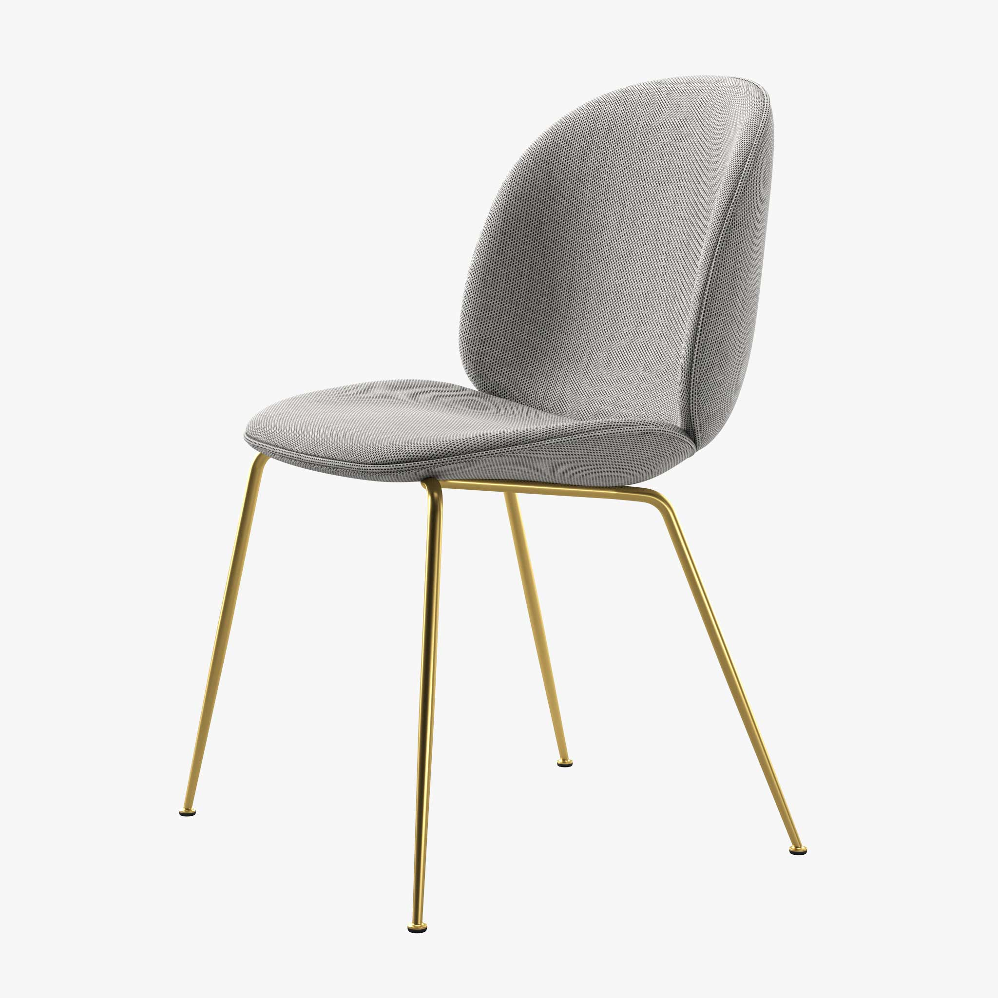 Gubi Chair Basel Brass Legs